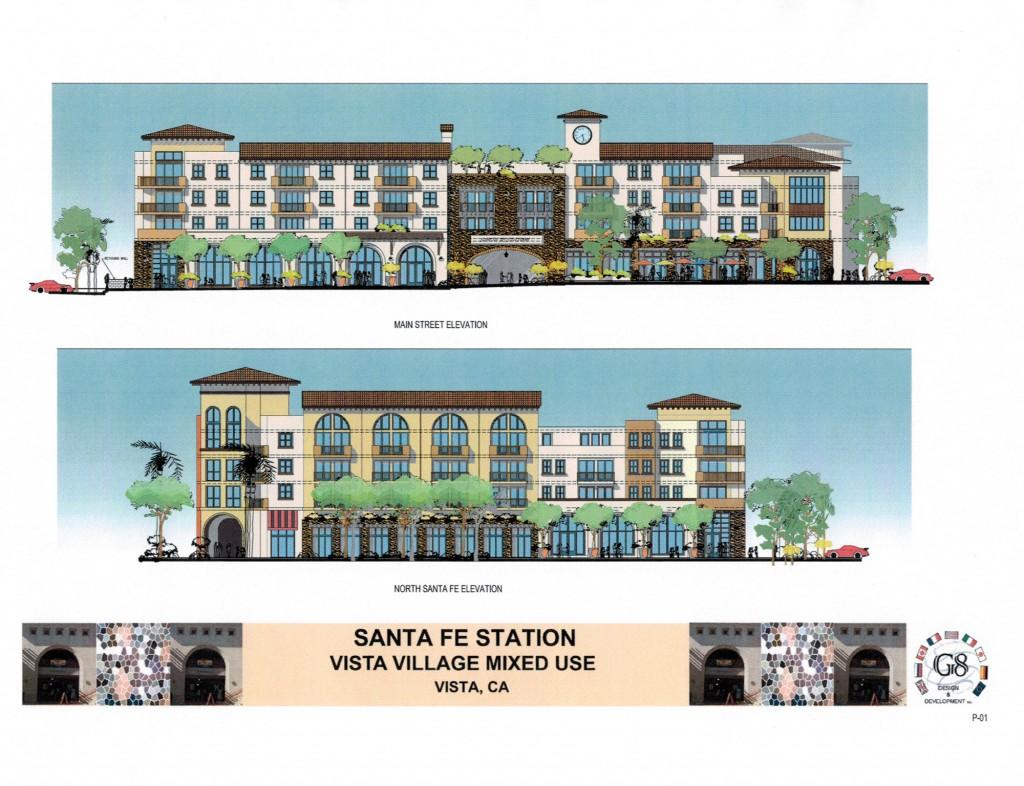 Santa Fe Station, Vista Village